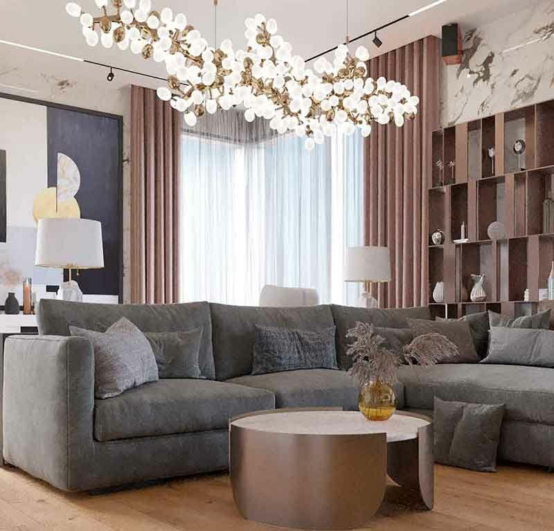 Добрый дом. Проект интерьера 3х комнатной квартиры в ЖК LIFE «Кутузовский»