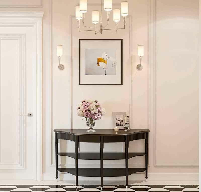Зефир. Интерьер квартиры в стиле Американская классика.
